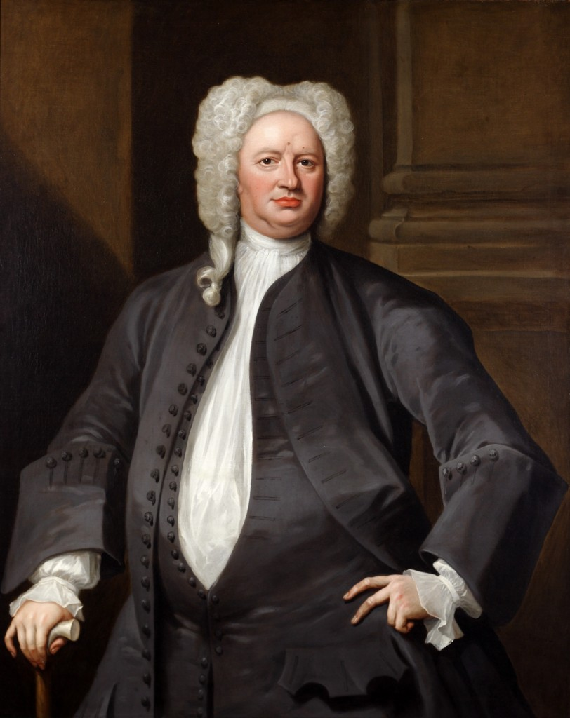 William Verelst (b. England). Portrait of John Law, 1727. Oil on canvas. Purchased with funds donated by the Enid and Crosby Kemper Foundation.